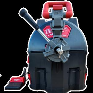 Milwaukee Rucksackmaschine mit Vorschub